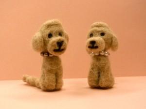 羊毛+犬毛マスコット